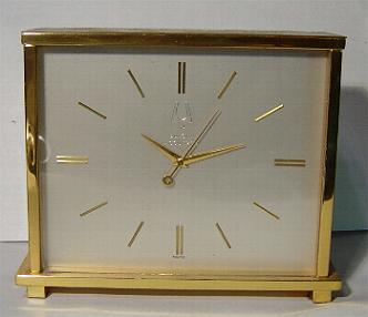 Accutron Brass Clock 'Empire' 'A' Stock# D2051