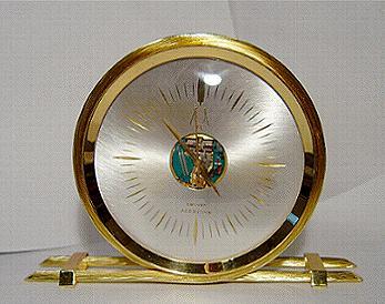 Accutron Rope Clock Space Brass Stock# 800c