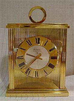 Accutron Carriage Clock 214 Stock# 728